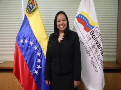 Viceministra Econ. Yazmín Ramírez.